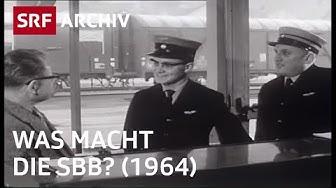 Berufe bei der SBB (1964) | Jobs bei der Bahn | SRF Archiv