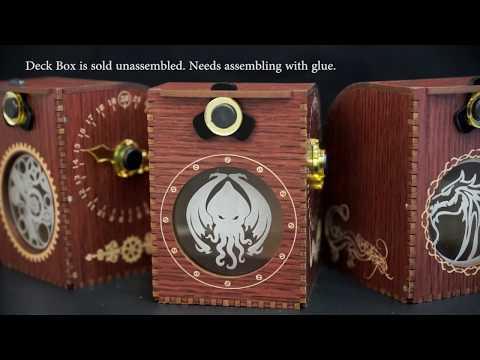 Blackfire Wooden Deck Case