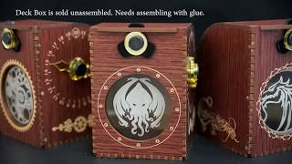 Blackfire Wooden Deck Case