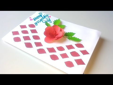 How To Make Friendship Day Special Card Handmade Card Idea For Best Friend