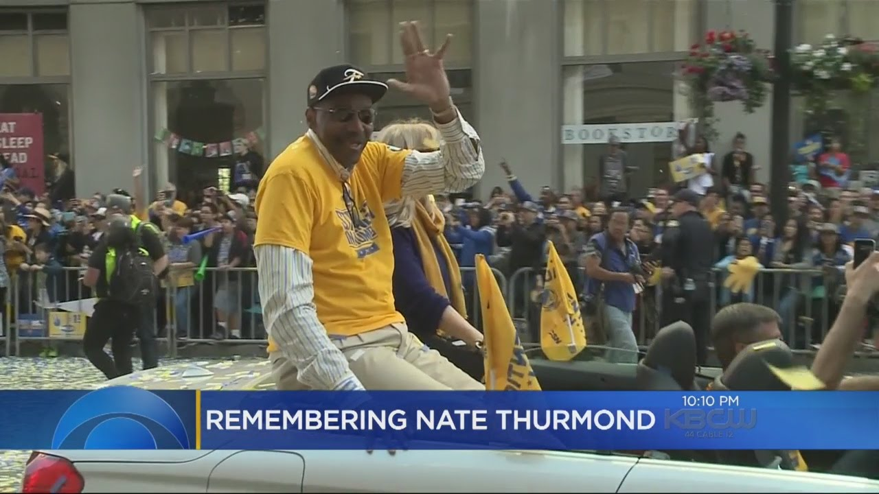 ea79976bae8c Warriors Great Nate Thurmond Dies At 74 - YouTube