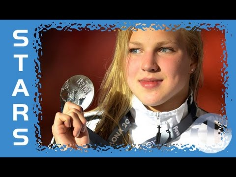 Lithuania's teenage swimming star Ruta Meilutyte