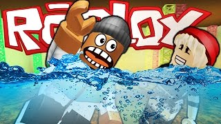 SURVIVING A MASSIVE FLOOD IN ROBLOX!