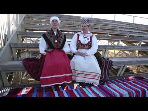 """Saare maakonna 45. tantsupidu """"Aja lõim"""""""