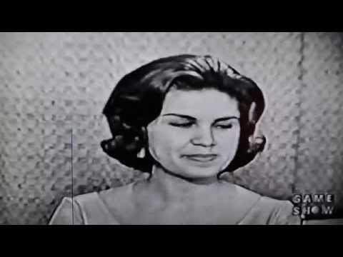 What's My Line? August 1962 - Dorinda Nicholson