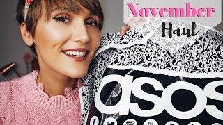 ASOS HAUL & TRY ON - NOVEMBER - FAUX FUR COATS, JUMPSUITS & DRESSES | Blaise Dyer