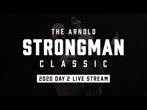 Full Live Stream   Arnold Strongman Classic 2020 - Day 2