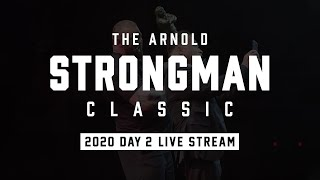 Full Live Stream | Arnold Strongman Classic 2020 - Day 2