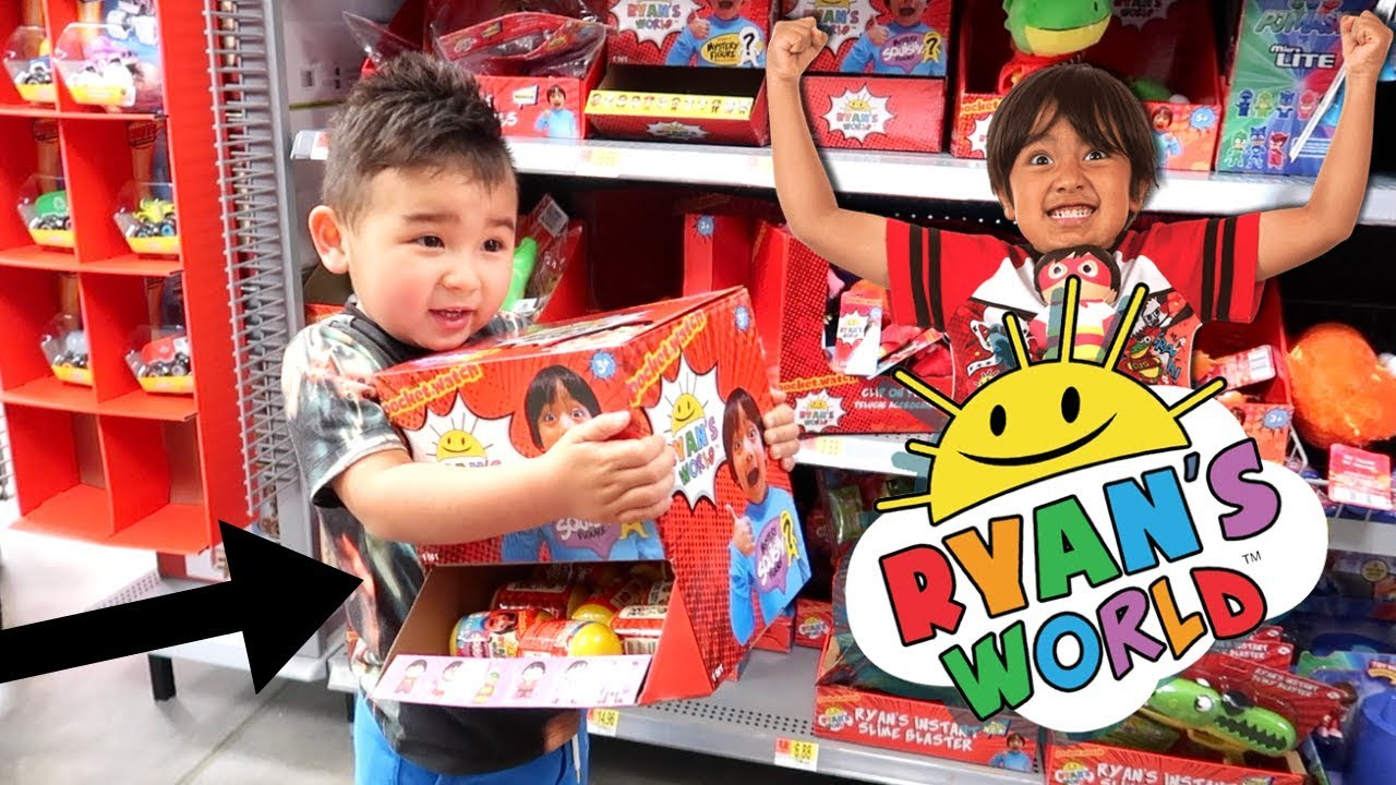 Ryan S World Toys Hunting For Mystery Toys At At Walmart