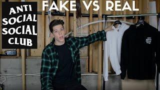 ANTI SOCIAL SOCIAL CLUB | REAL VS FAKE |