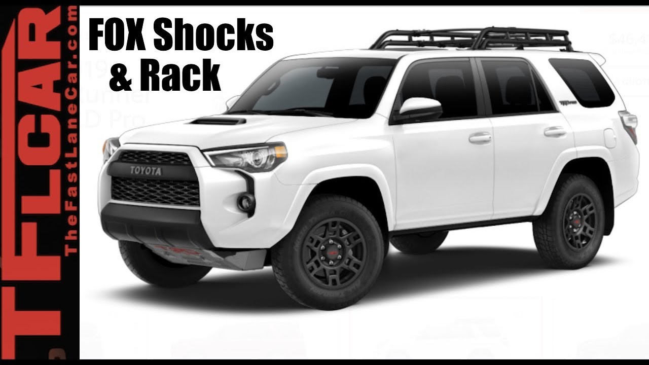 2019 Toyota 4runner Can The Trd Pro Break 50 000 Barrier