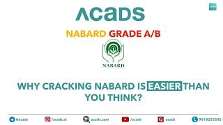 Why cracking NABARD is easier than you think!