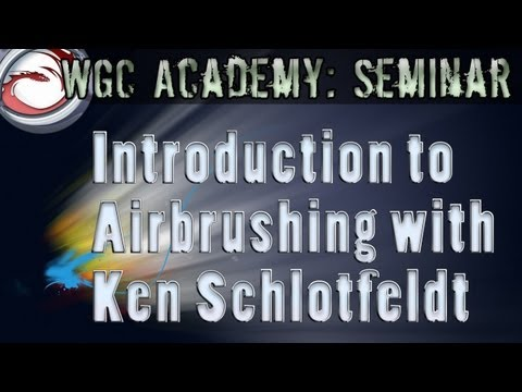 Introduction to Airbrushing with Ken Schlotfeldt