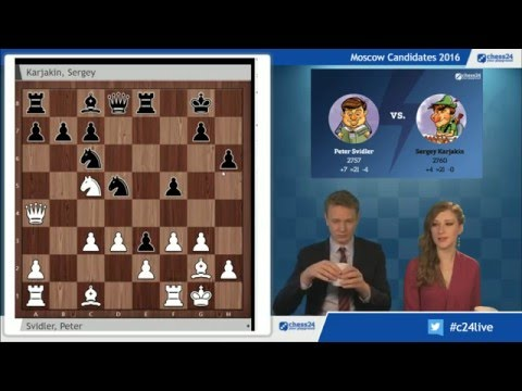 Moscow Candidates 2016 Live Commentary - Round 8