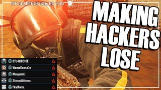 Solo Smurf: I Made Hackers Lose - Rainbow Six Siege