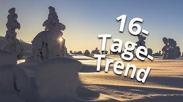 16-Tage-Trend: Kommt Frostluft aus Lappland?