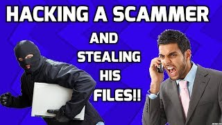 Accessing Scammer'S PC & Stealing His Files thumbnail