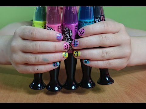 Необычные лаки для ногтей
