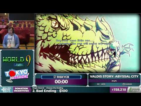 Valdis Story: Abyssal City By Riskycb In 37:48 - AGDQ 2017 - Part 20