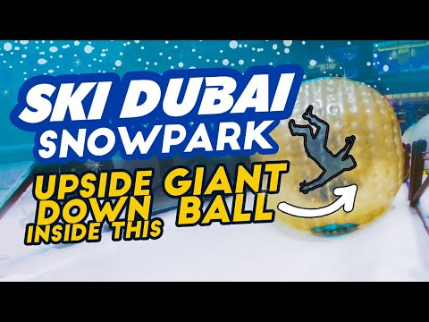 SKI DUBAI SNOW PARK RIDES (Quick Tour)