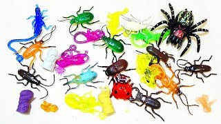 ИГРУШКИ ТАРАКАНЫ лизуны СТИРАТЕЛИ животные динозавры Видео Toys new slime ERASERS animals