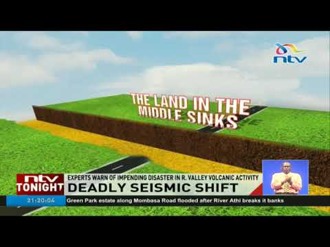 The cracks in Mai Mahiu are not a result of rain, the earth's crust is moving