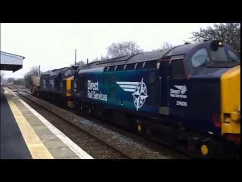 37609 + 37218 6O62 0230 Crewe Coal Sidings Drs -  Dungeness British Energy