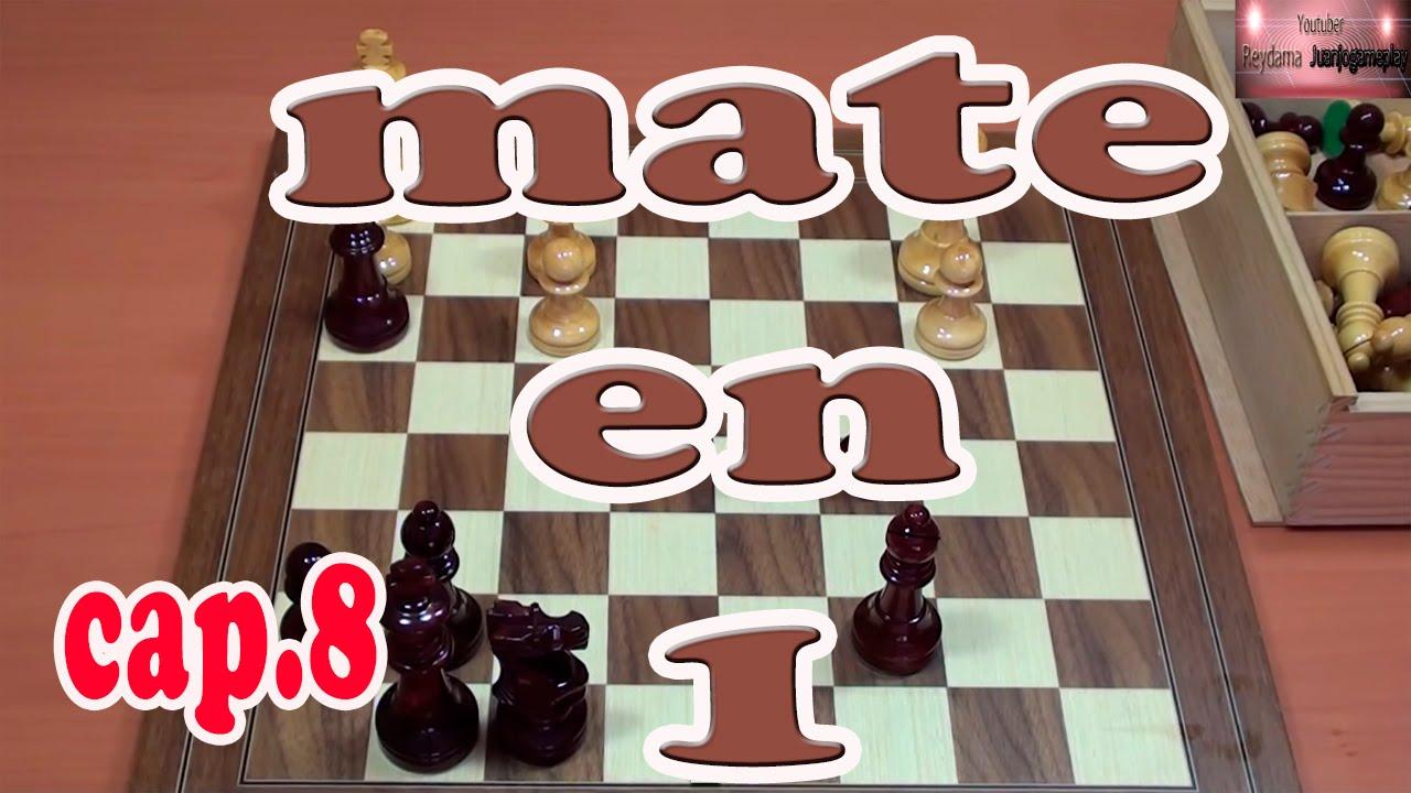 Jaque mate en 1 movimiento. Entrénate en ajedrez
