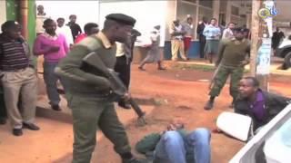 KIOJA NYERI: Washukiwa wa wizi wa magari wakamatwa na polisi