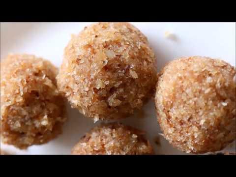 Richa Hingle: Vegane Indische Küche - Cremige Kokosbällchen (Nariyal Ladoo) Rezept