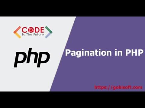[khóa học lập trình PHP] Hướng dẫn phân trang bằng PHP
