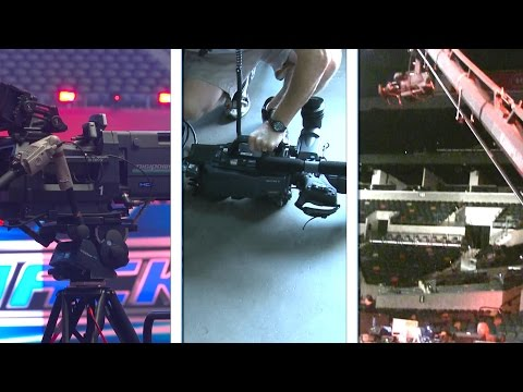 WWE Technology: Go behind the camera at WWE's televised events