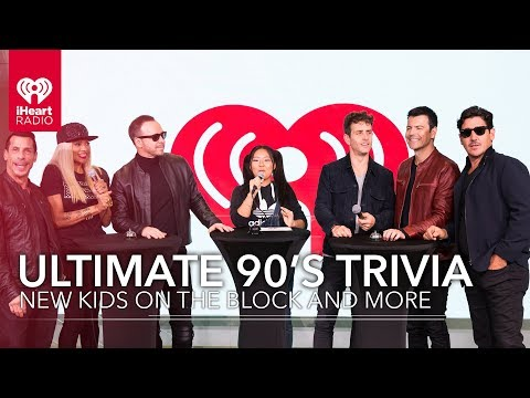 Ultimate 90's Trivia With New Kids On The Block And More   Exclusive Interviews