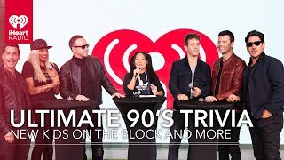 Ultimate 90's Trivia With New Kids On The Block And More | Exclusive Interviews Video