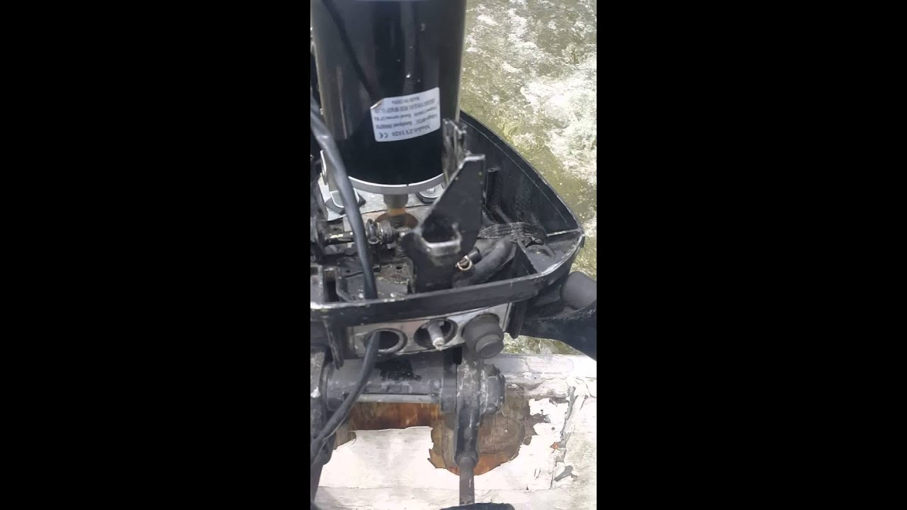 Outboard electric conversion youtube for Electric outboard motor conversion