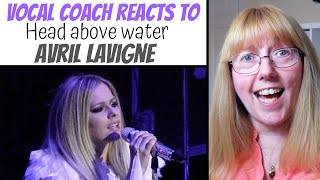 Vocal Coach Reacts to Head Above Water Avril Lavigne Live - Is she lip syncing? Video