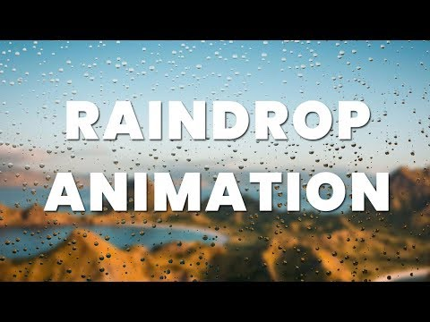 Raindrop Fall on glass animation | Jquery Plugins Tutorial