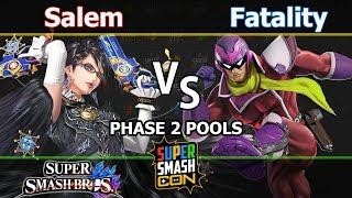 MVG Salem (Bayonetta) vs. YP Fatality (C. Falcon) - Wii U Singles Phase 2 Pools - SSC2017