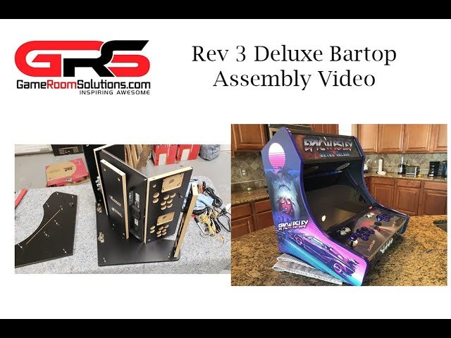 GRS Rev 3 Assembly Video Bartop Arcade Deluxe