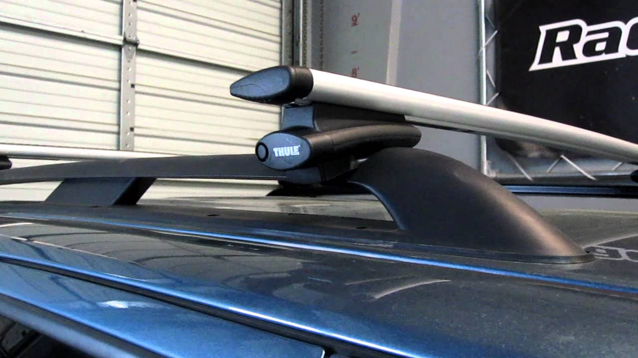 Ford Escape With Thule Rapid Crossroad AeroBlade Base Roof Rack By Rack  Outfitters