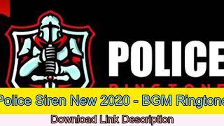 Police Siren New 2020 ringtone download free - IRingCompany