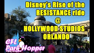 Disney's Rise of the Resistance Ride Galaxy's Edge Orlando