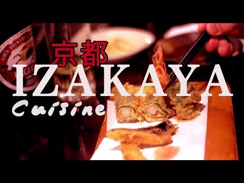 Japanese Izakaya Restaurant Food, KYOTO Cuisine - Unearthing Flavours episode 2