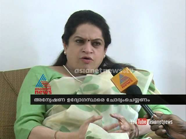 ISRO spy case: Pathmaja Venugopal tightens opinion