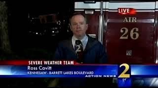 WSB-TV Atlanta Glenn Burns's 11PM Weather Forecast April 23, 2009