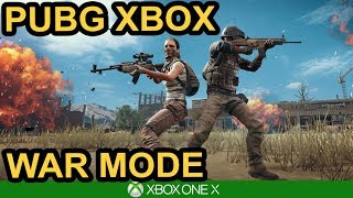 WAR MODE IS HERE / PUBG Xbox X Gameplay