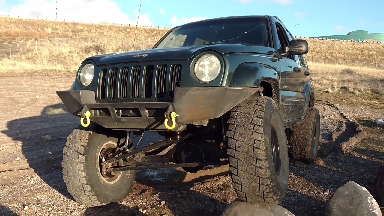jeep liberty solid axle swap walk around