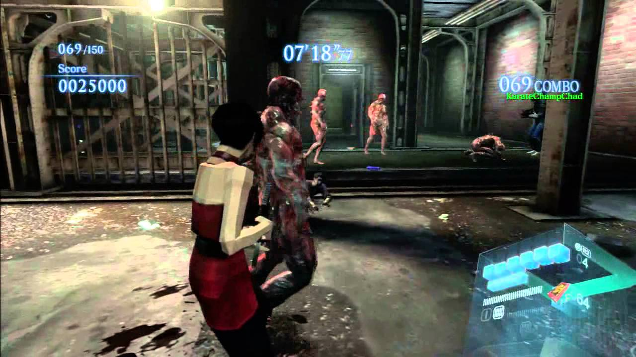 Resident Evil 6 Ada Leon Ex3 Costumes Rooftop Mission Youtube