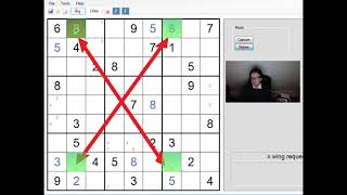 Sudoku Tricks:  The X-Wing And How To Spot It