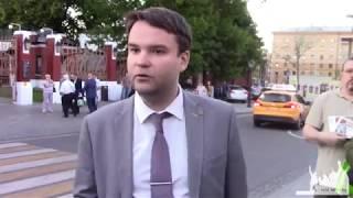 Смотреть видео 26 июня, 2018г. Ганич Денис кандидат в мэры Москвы. онлайн